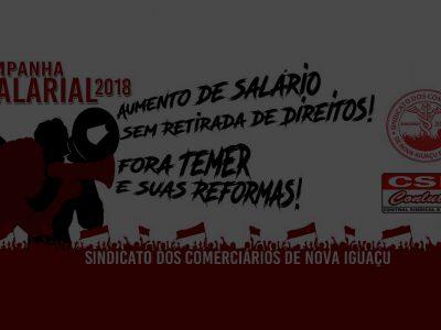 Materiais de Divulgação da CAMPANHA SALARIAL 2018